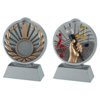 BL010 Brons of Zilveren Standaard