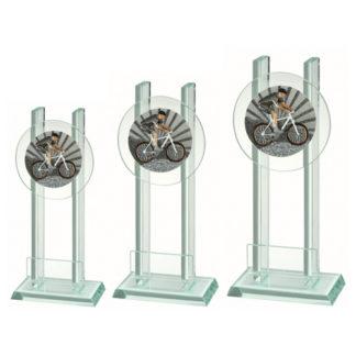 BLG031 Glasstandaard Fietscross