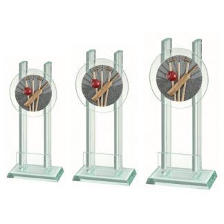 BLG031 Glasstandaard Honkbal