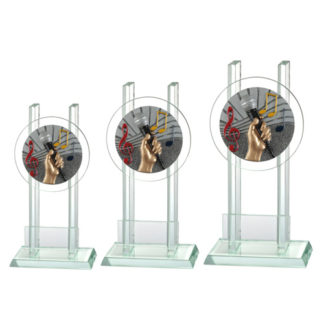 BLG031 Glasstandaard Muziek