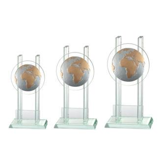 BLG031 Glasstandaard Wereldbol