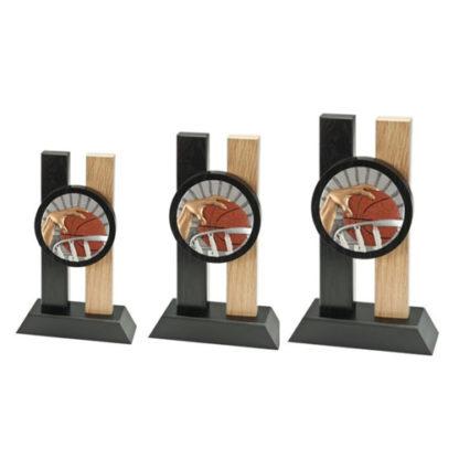 BLH001 Houten Standaard Basketbal