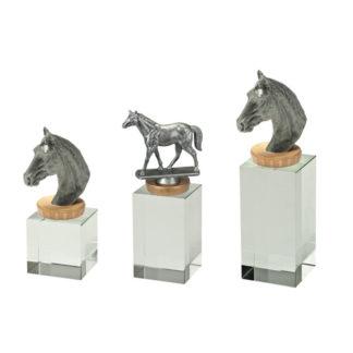 FX501 Glasblok Paardrijden
