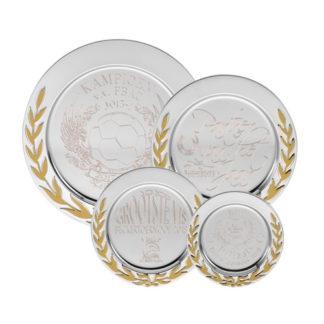K141 Goud/Zilveren Kampioensschaal Ingegraveerd