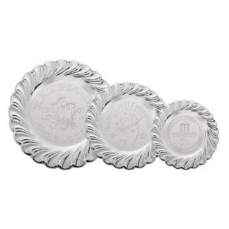 K151 Zilveren Kampioensschaal Ingegraveerd