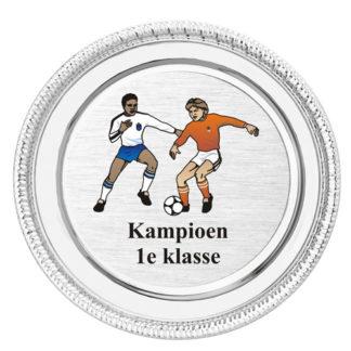 K160 Zilveren Kampioensschaal
