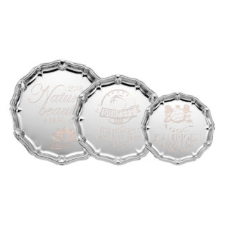 K171 Zilveren Kampioensschaal Ingegraveerd