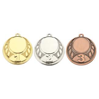 Nr. 1-2-3 Medaille