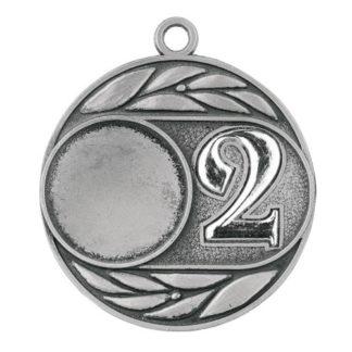 M120 Zilveren Medaille nr. 2 50 mm
