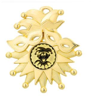 M206 Gouden Carnavalsmedaille 72 x 85 mm
