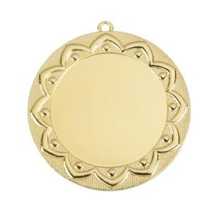 Gouden Medaille met labelprint