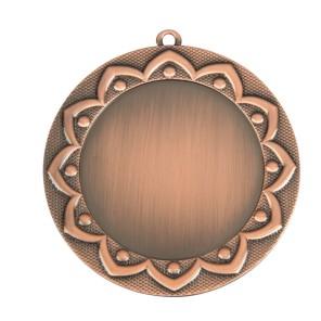 Bronzen Medaille met labelprint