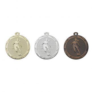 Damesvoetbal medaille